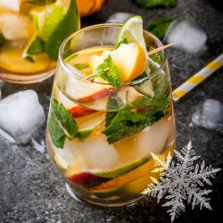 Rum Lime Peach Spearmint